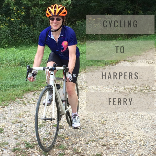 cycling to harpers ferry