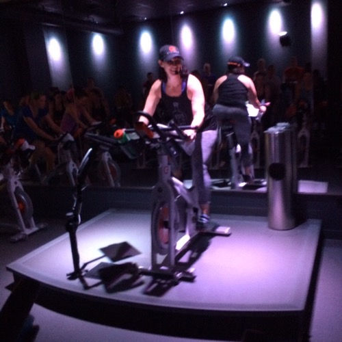 Aimee at CycleBar