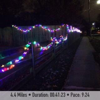 Holiday Lights December Run