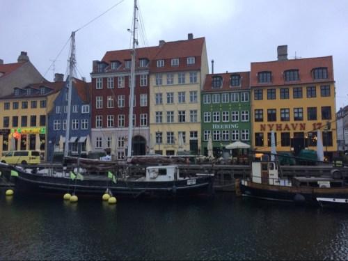 Running in Copenhagen - Nyhavn