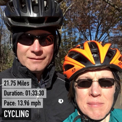 Cycling Mount Vernon Trail