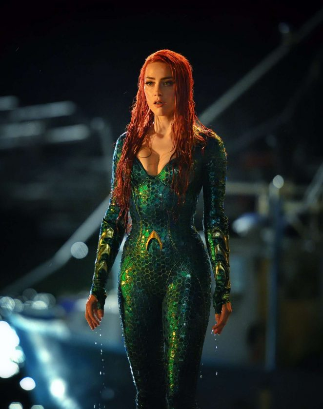 Amber Heard  Aquaman 2018 Promotional Photo