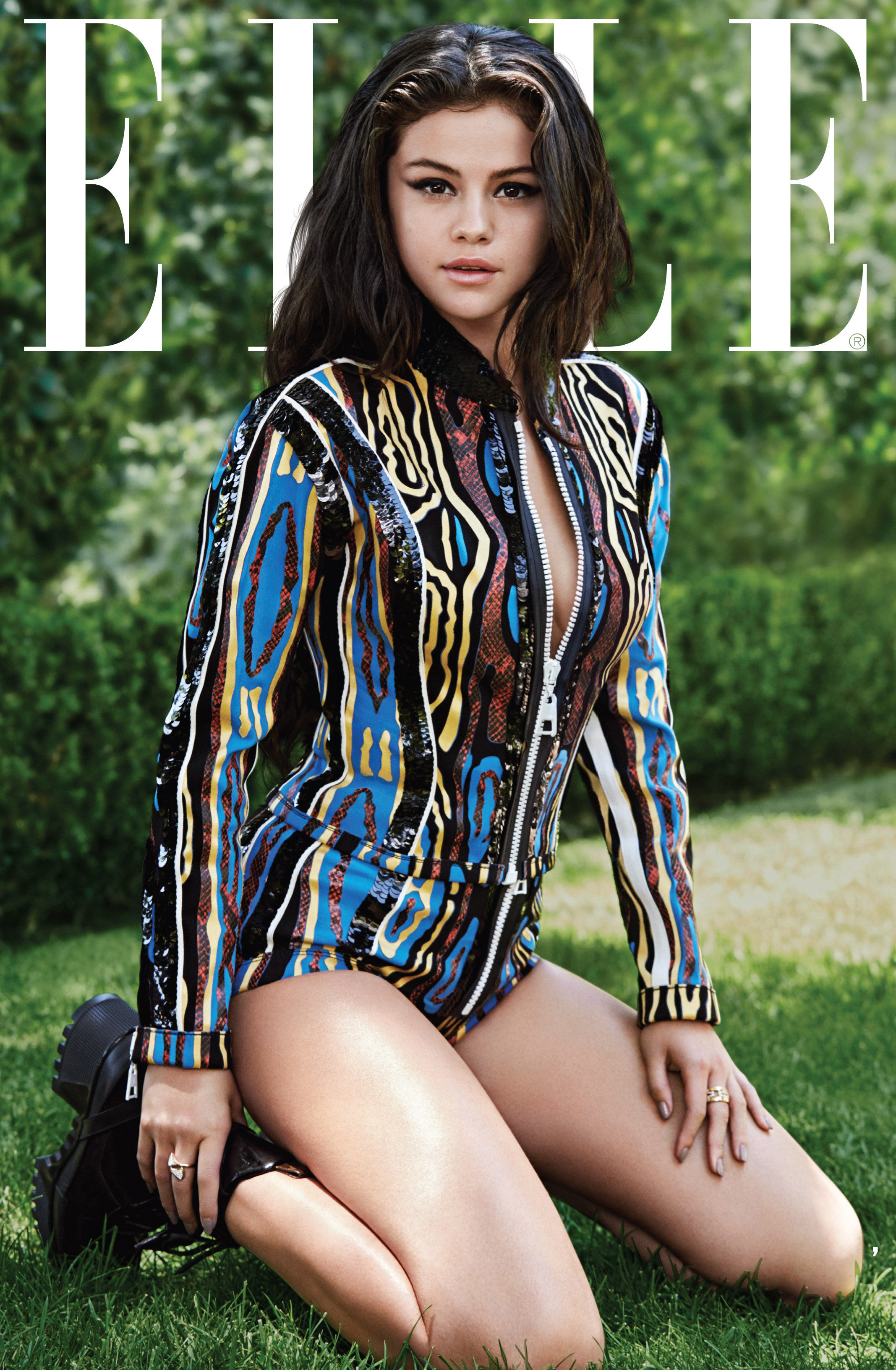 Selena Gomez  Elle Us Magazine (october 2015
