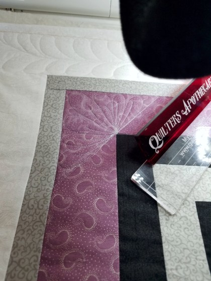 Corner Quilting for an Elegant Affair