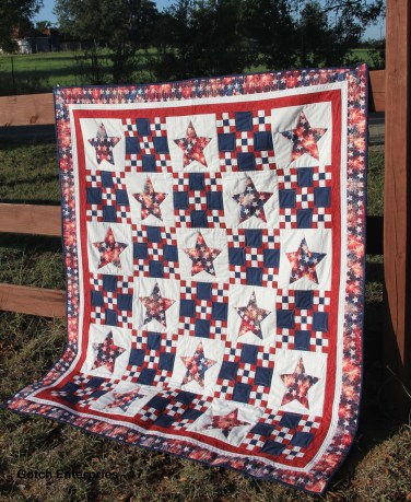 Star Spangled Legion Quilt 2017