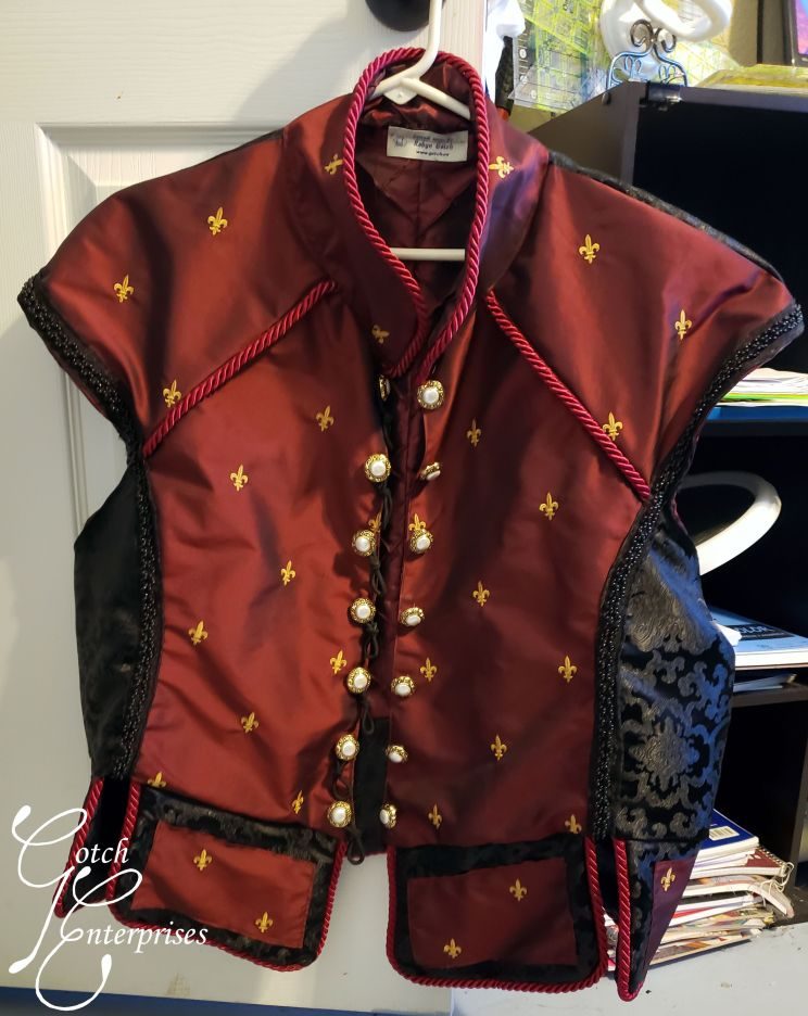 Matching Fabrics on Doublet