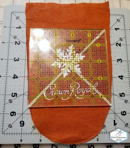 Orange Crown Royal Bag Cut