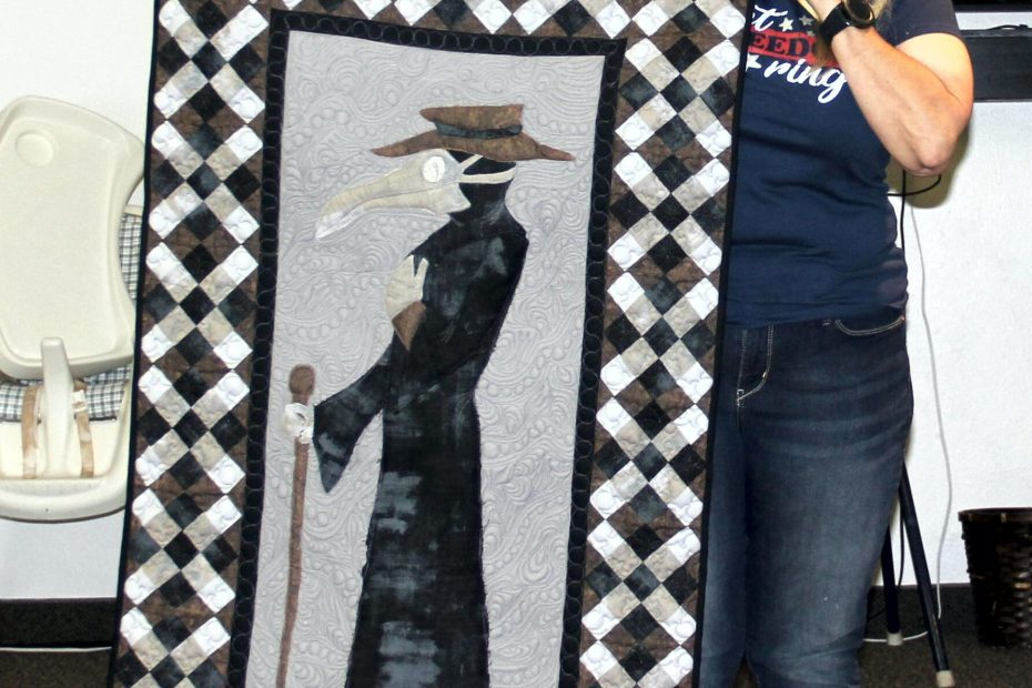 Dr. Corona Banner Quilt