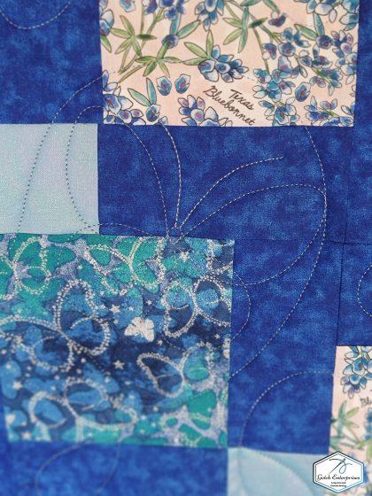 bluebonnets and butterflies close 1