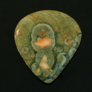 Rainforest Jasper Guitar Pick