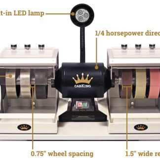 Cabking lapidary machine