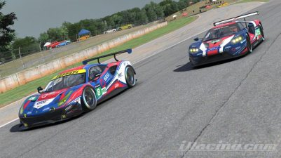 Henrik and Daniel in the GTE Cars.