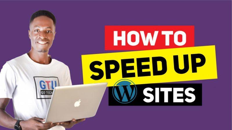 Speedup-wp-sites