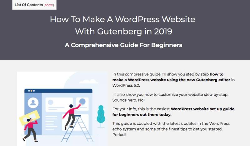 Complete website guide