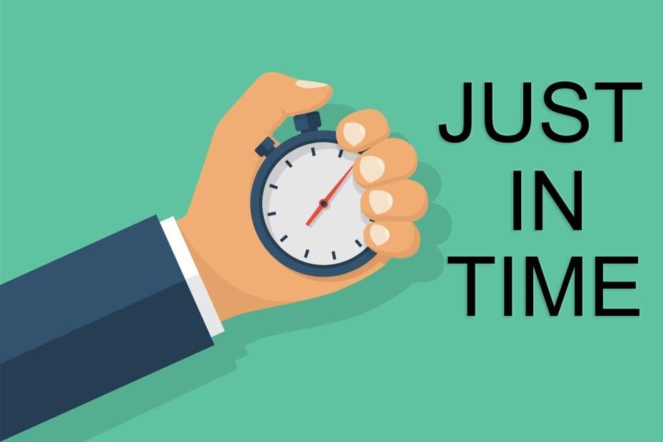 ระบบ Just In Time