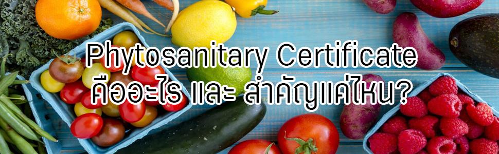 Phytosanitary Certificate1