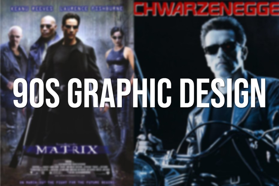 90s Graphic design