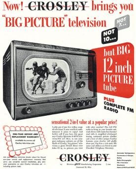 Crosley Television 1948