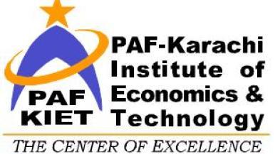 PAF-KIET Entry Test Online Preparation Sample Paper