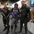Tali and two Commander Shepards? From Mass Effect