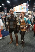 Geralt and Triss from The Witcher