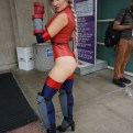 Cammy in her M. Bison inspired costume from Street Fighter IV