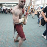 Kratos from the God of War series.