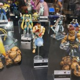 Some fairly articulated Street Fighter V figures.