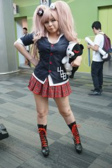 Junko Enoshima from the Danganronpa series.