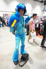 Mega Man from the series of the same name.