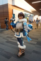 A great looking Mei from Overwatch.