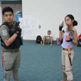 Chris Redfield and Sheva Alomar from Resident Evil 5.