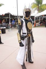 A guardian with Iron Banner armor from Destiny.