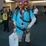 Link with Majora's Mask again from The Legend of Zelda: Breath of the Wild.