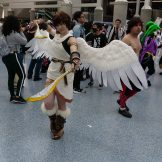 Pit from Kid Icarus at Anime Expo 2018.
