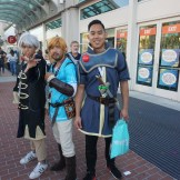 Robin from Fire Emblem: Awakening, Link from The Legend of Zelda: Breath of the Wild, and Marth from the original Fire Emblem. All three are also fighters in the upcoming Super Smash Bros. Ultimate.