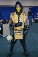 This Scorpion from Mortal Kombat looks familiar....