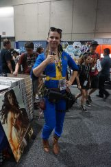 Another Vault dweller from the Fallout series.