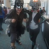 Wolf Link and Midna from The Legend of Zelda: Twilight Princess.
