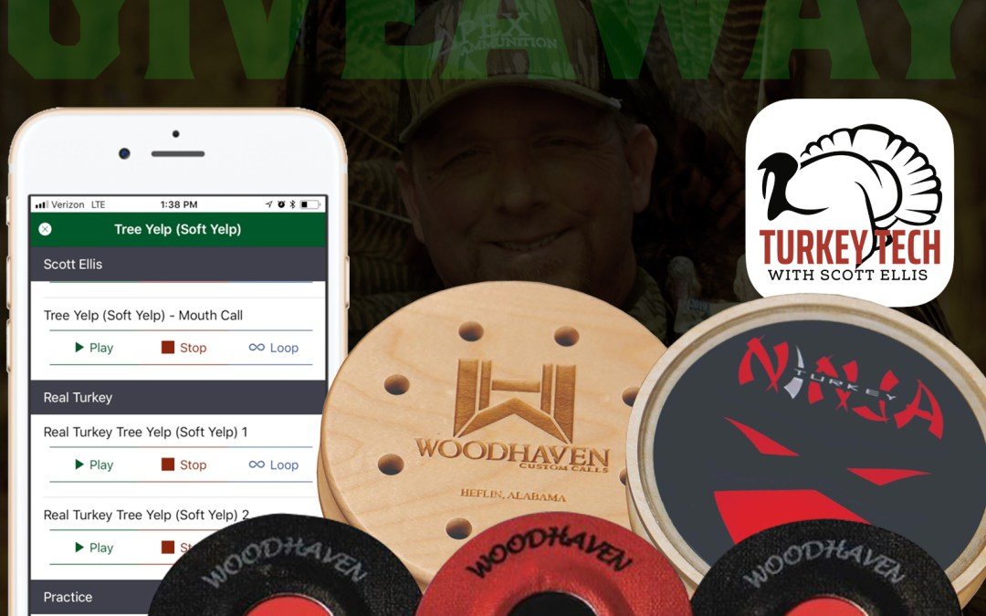 Turkey Calling Giveaway on the Go Wild App