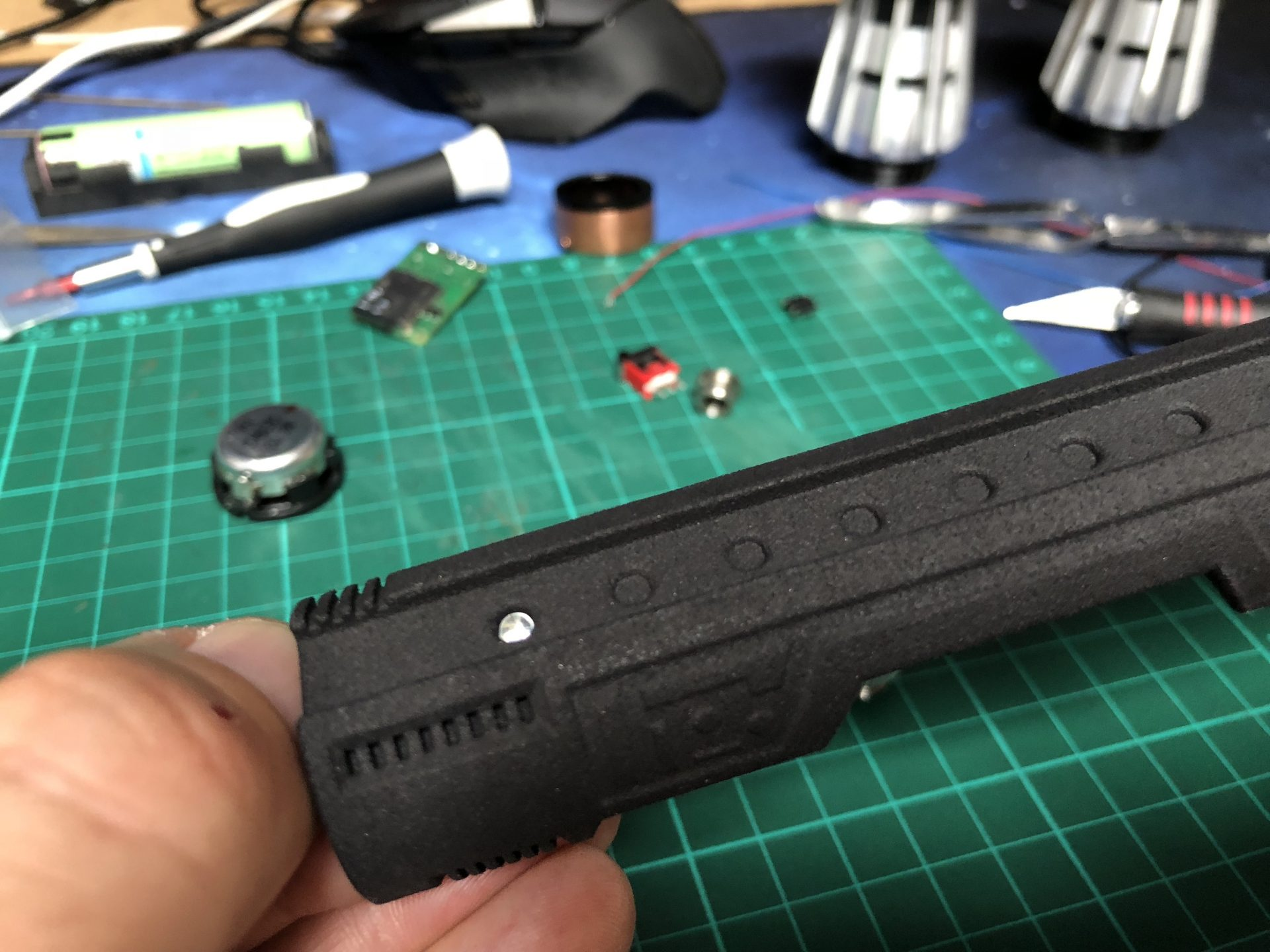 Diy Kr Sabers Darth Maul Goth 3designs Leds 3mm And 5mm Which Can Be Connected Using The Led Adapter Removing Img 3304