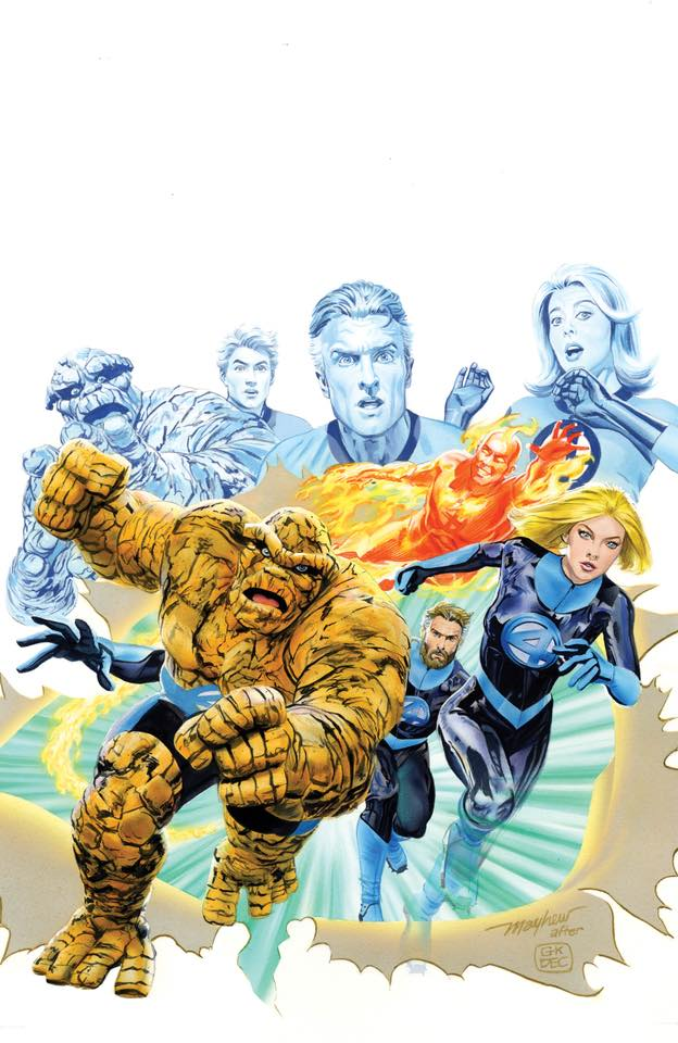 Fantastic Four #1 Gotham Central Exclusive Virgin Variant Set