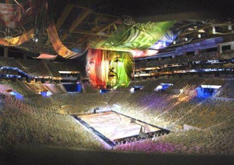 Inside Barclays Arena