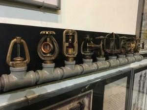 New York City Fire Museum - Sprinkler Heads
