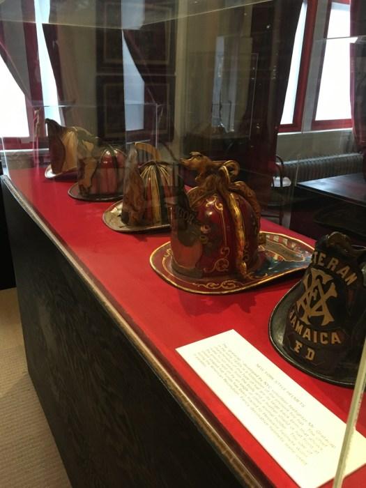 New York City Fire Museum -- Helmets