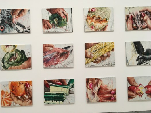 "Marilyn Minter's ""Food Porn"" at Brooklyn Museum"