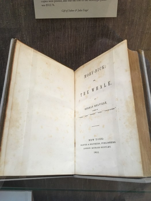 Moby-Dick First Edition