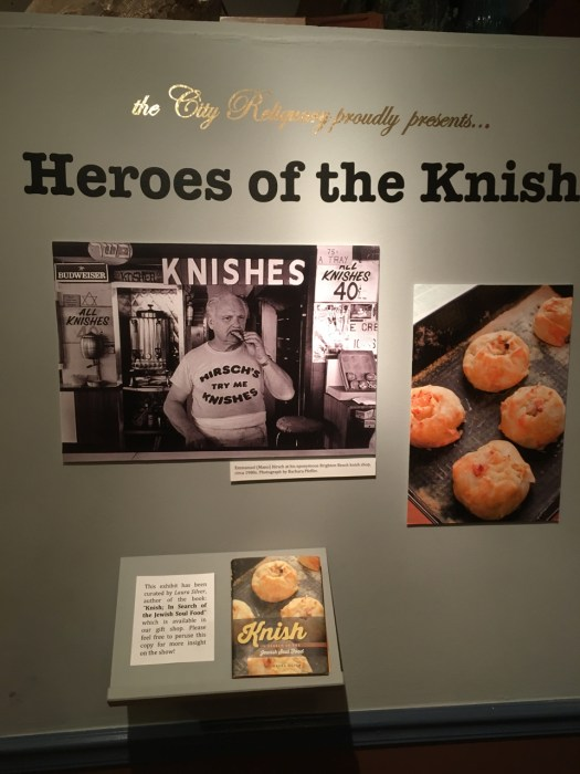 Knish Show at City Reliquary