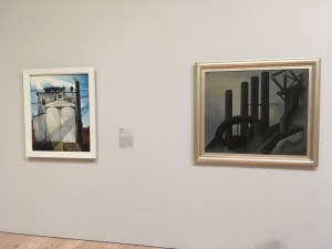 Charles Demuth and Elsie Driggs Juxtaposed at the Whitney Museum