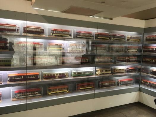 Trolley Models, Transit Museum